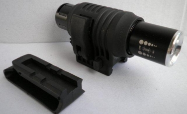 Quick Release Weapon Mount- Fits 25mm/1inch Torches