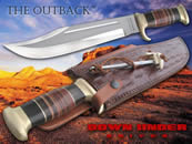 Massive bowie knife, croc dundee knife, crocodile knife