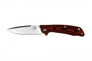 TTK Folding Knife D2, G10 Red/Blk TTKDP89FRB