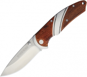 Rough Ryder Folding Knife Linerlock Wood